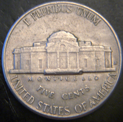 1941-S Jefferson Nickel - VF to AU
