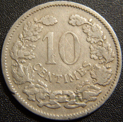 1901 10 Centimes - Luxembourg