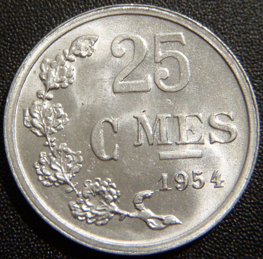 1954 25 Centimes - Luxembourg