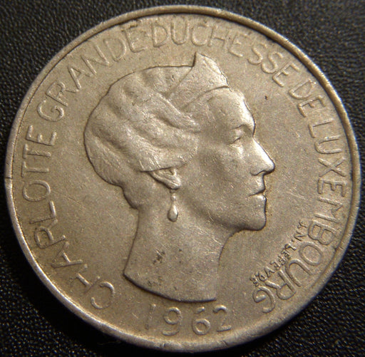 1962 5 Francs - Luxembourg