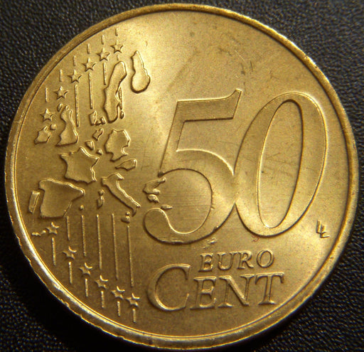 2002 50 Euro Cents - Luxembourg