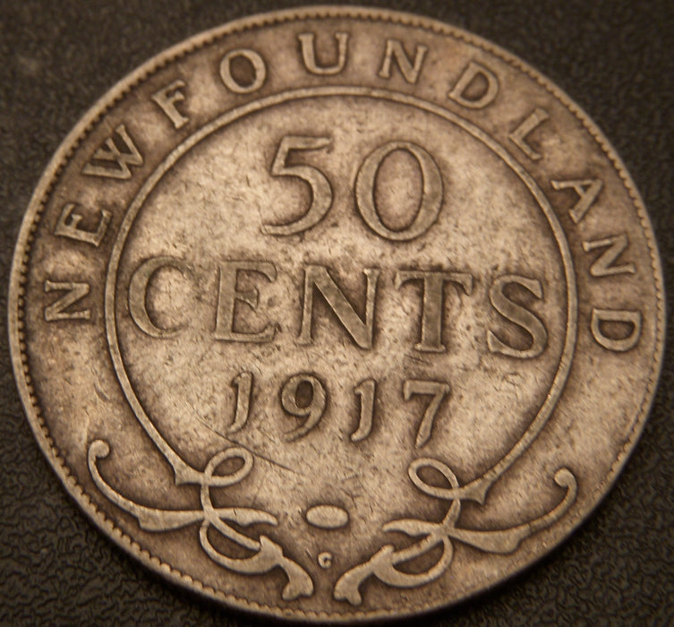 1917c New Foundland Fifty Cent