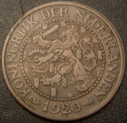1929 2 1/2 Cents - Netherlands