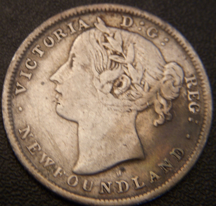 1876H 20 Cents - New Foundland
