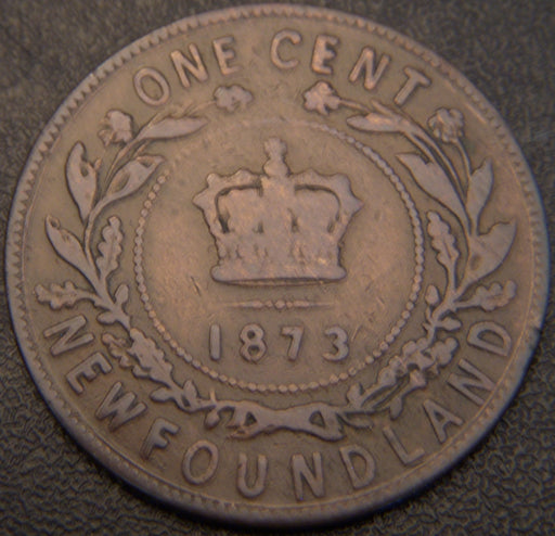 1873 One Cent - New Foundland