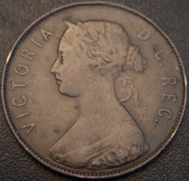 1880 One Cent - New Foundland