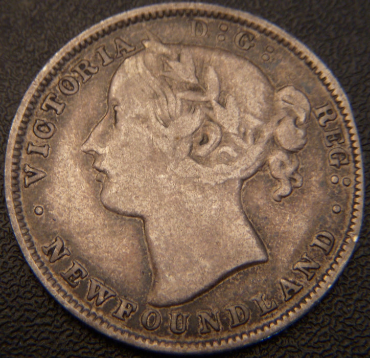 1865 20 Cents - New Foundland