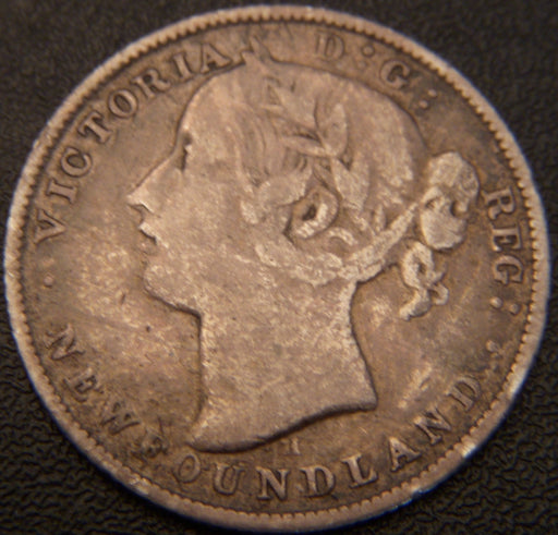 1872H 20 Cents - New Foundland