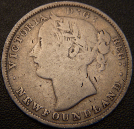 1873 20 Cents - New Foundland