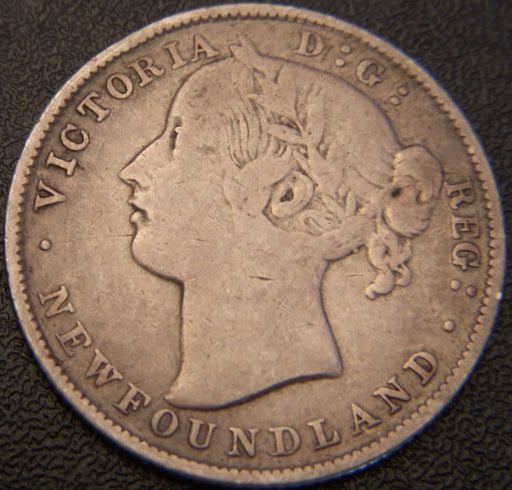 1881 20 Cents - New Foundland