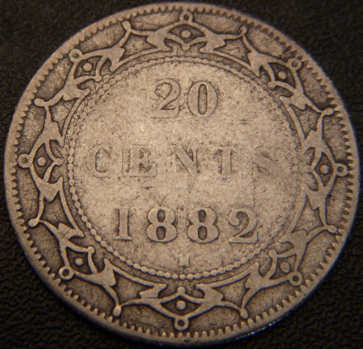 1882H 20 Cents - New Foundland
