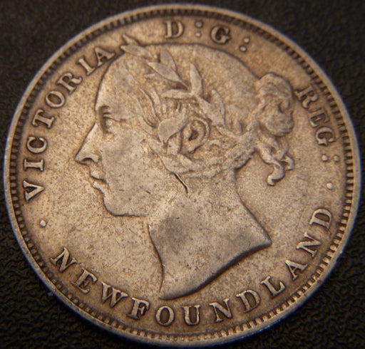 1896 20 Cents - New Foundland