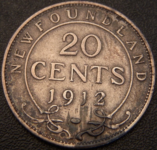 1912 20 Cents - New Foundland