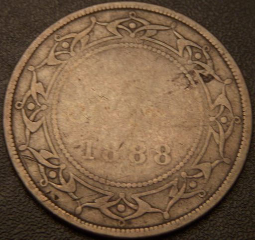 1888 50 Cents - New Foundland