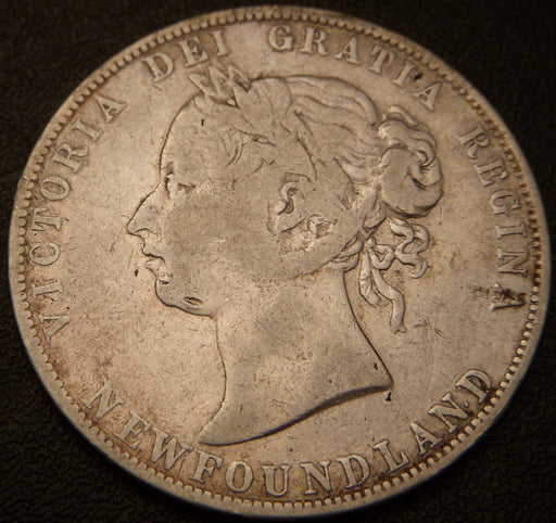1896 50 Cents - New Foundland