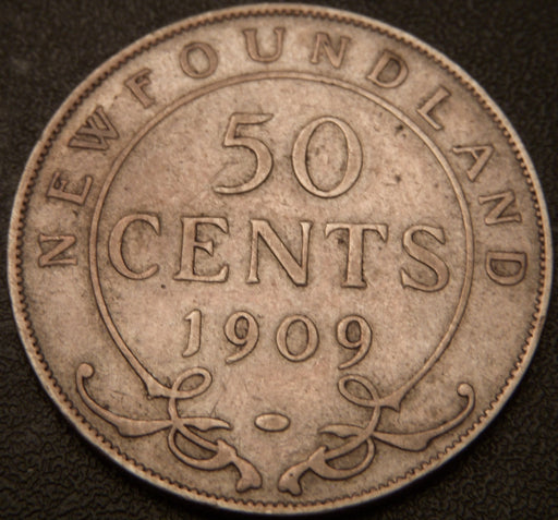 1909 50 Cents - New Foundland