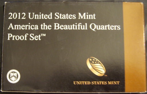 2012 America the Beautiful Quarter Clad Proof Set