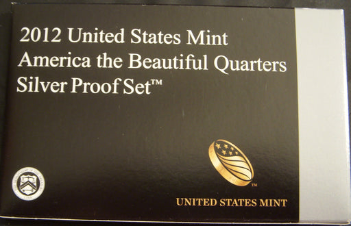 2012 America the Beautiful Quarter Silver Proof Set
