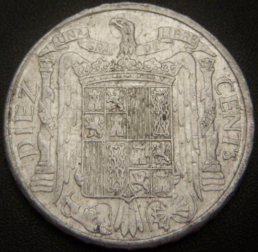 1953 10 Cents - Spain