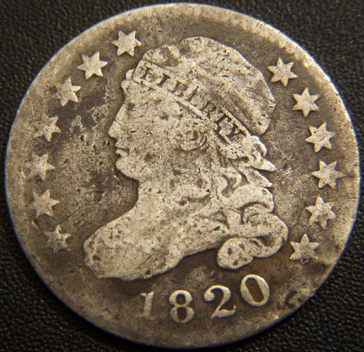 1820 Bust Dime - Very Good