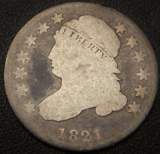 1821 Bust Dime - Very Good