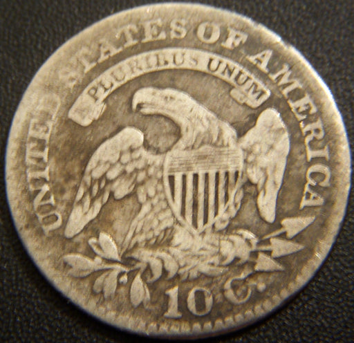 1827 Bust Dime - Fine