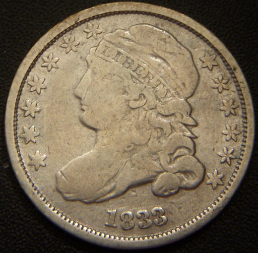 1833 Bust Dime - Very Good