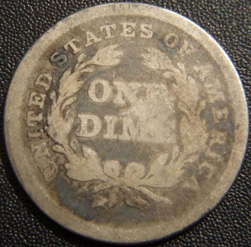 1838 Seated Dime - Good+