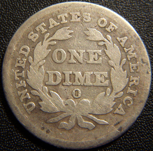 1838-O Seated Dime - Good