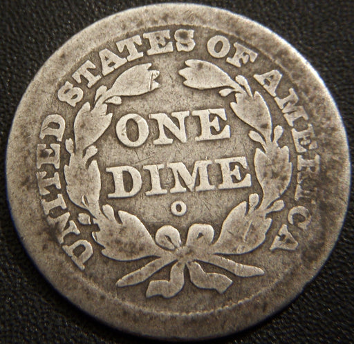 1841-O Seated Dime - Good