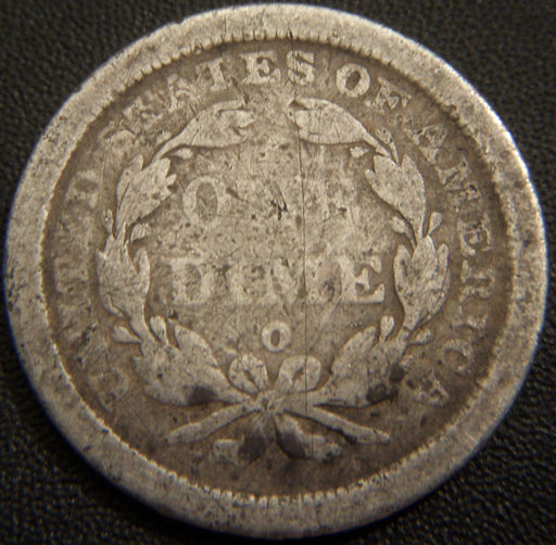 1842-O Seated Dime - Good