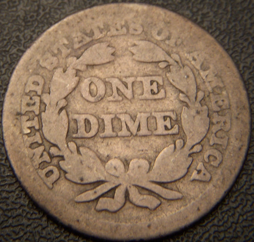 1849 Seated Dime - Good