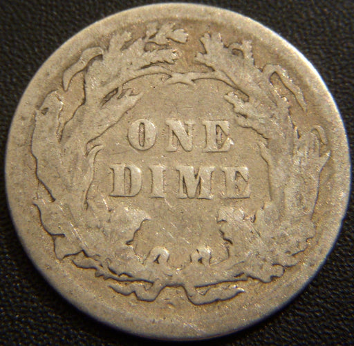 1890 Seated Liberty Dime - Very Good+