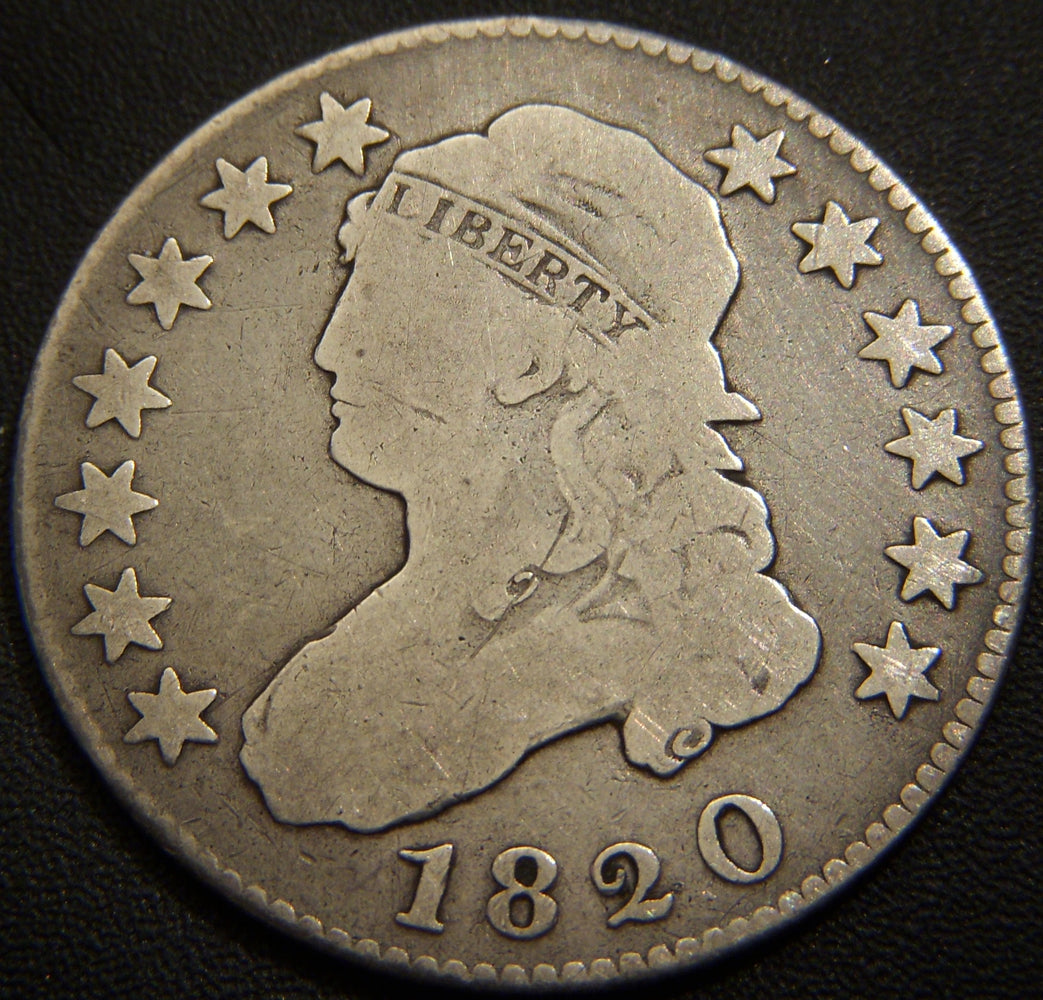 1820 Bust Quarter - Very Good