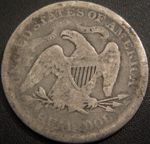 1873 Seated Quarter - Very Good