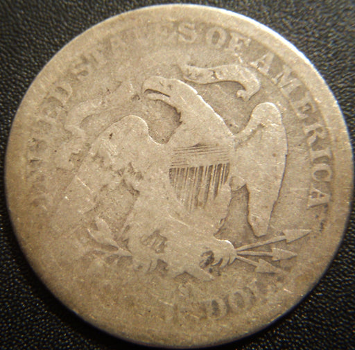 1877-S Seated Quarter - Good