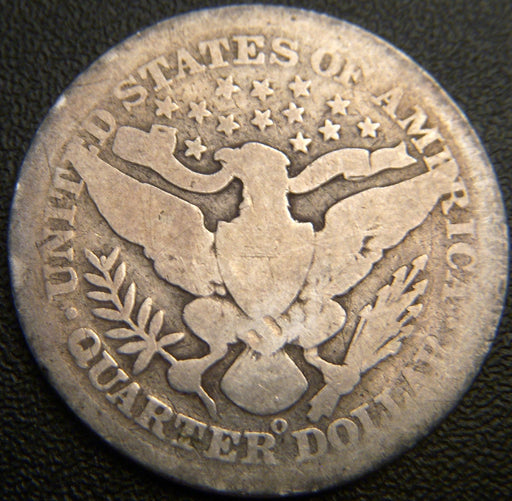 1896-O Barber Quarter - Good