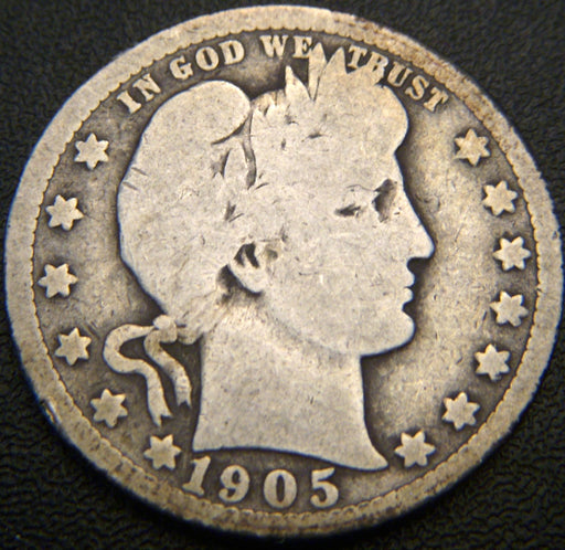 1905 Barber Quarter - Good