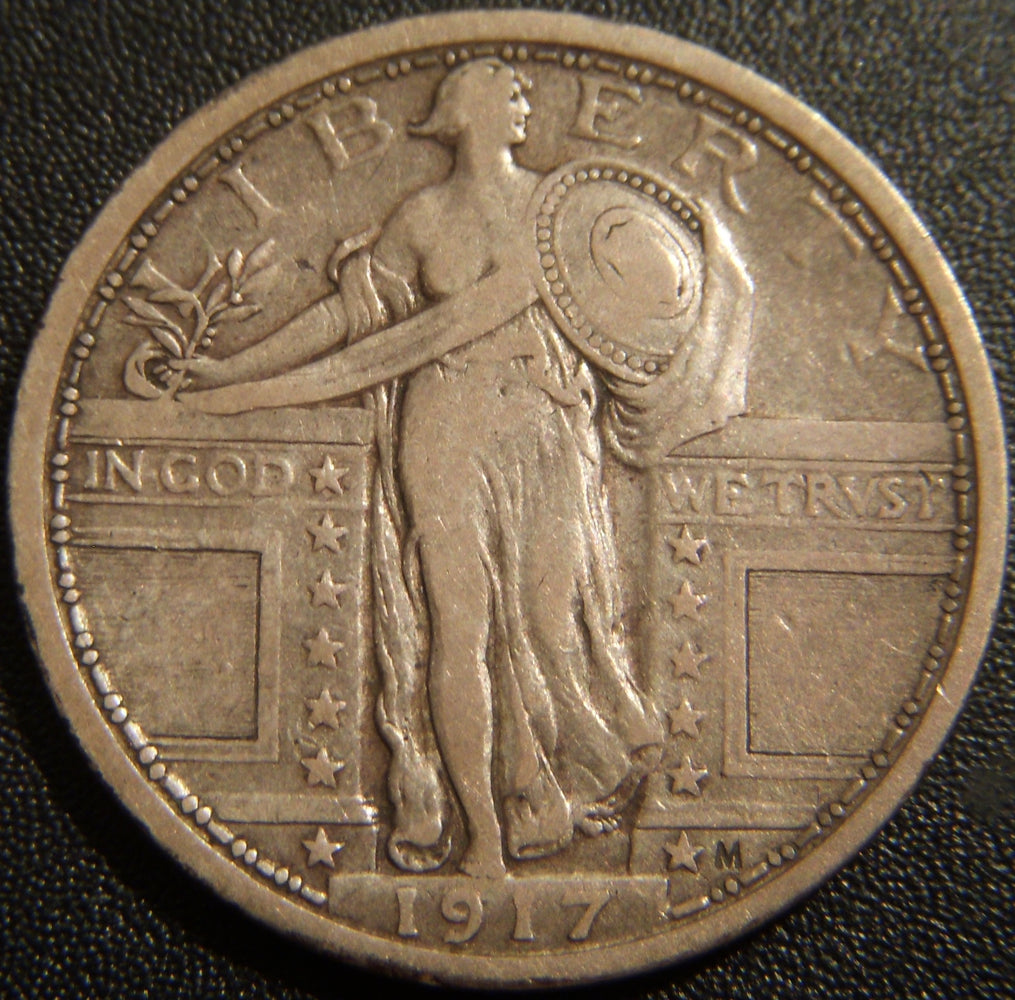 1917 T1 Standing Quarter - Very Fine