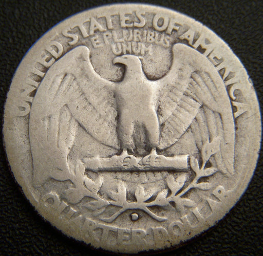 1932-D Washington Quarter - G