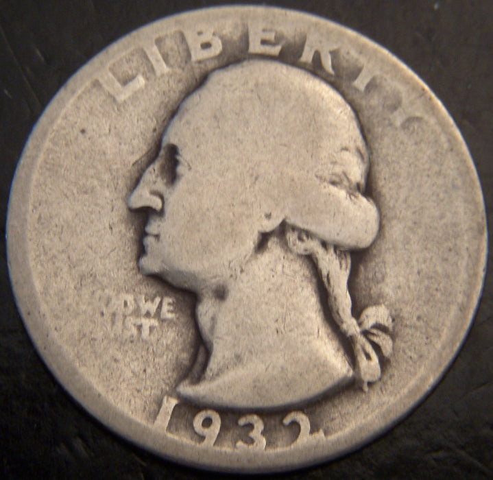 1932-D Washington Quarter - Good