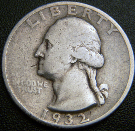 1932-S Washington Quarter - F