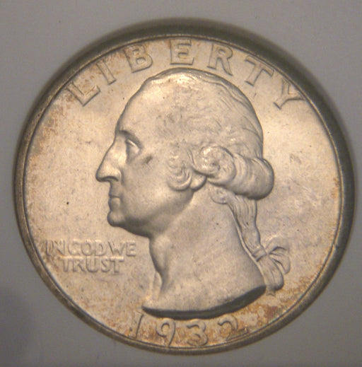 1932-S Washington Quarter - NGC MS64*