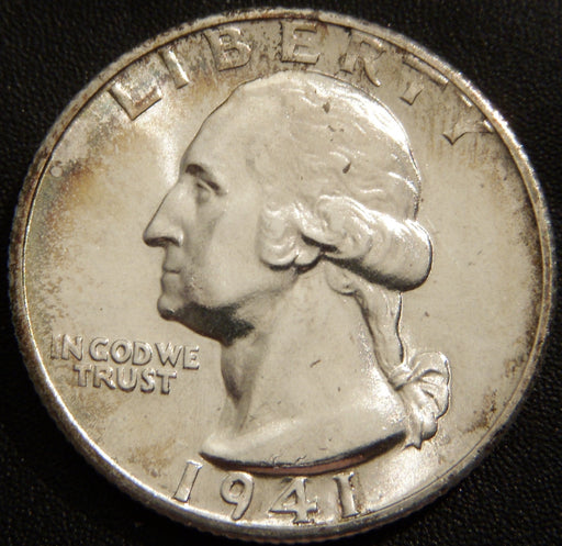 1941-S Washington Quarter - Mint State