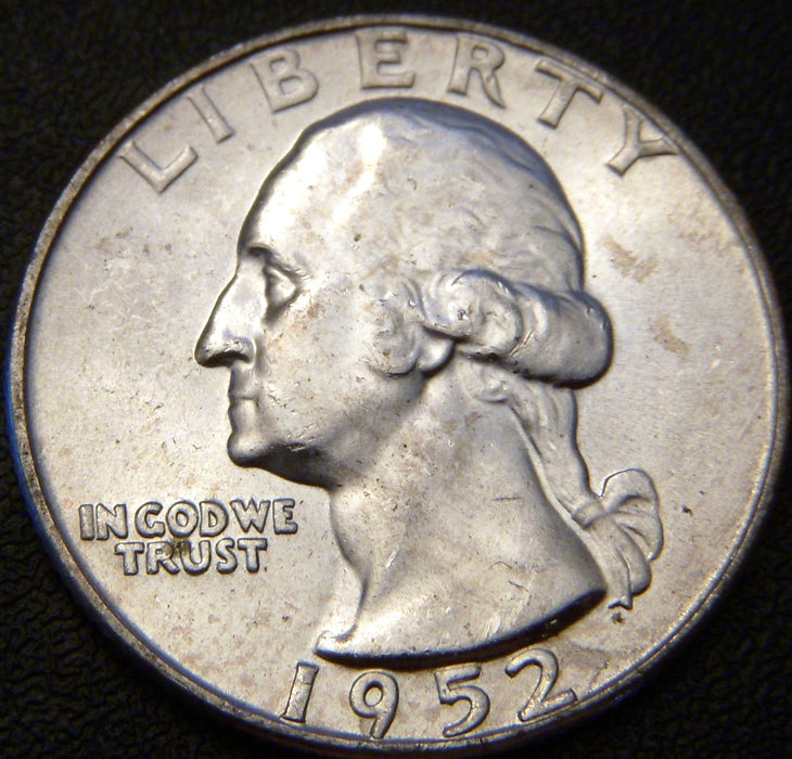 1952-D Washington Quarter - MS Unc