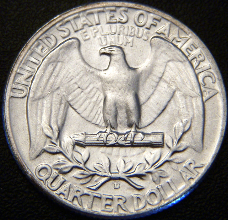1953-D Washington Quarter - MS Unc