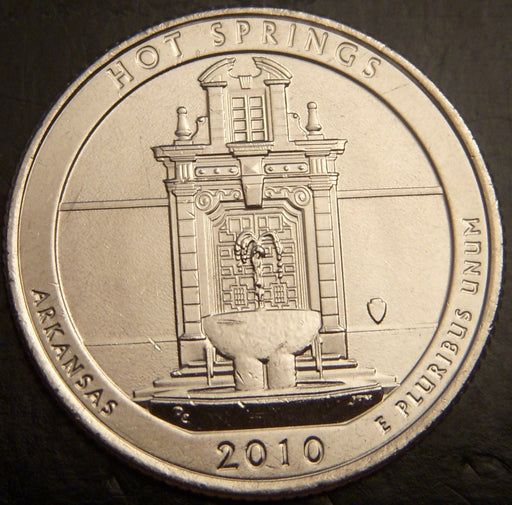 2010-D Hot Springs Quarter - Unc.