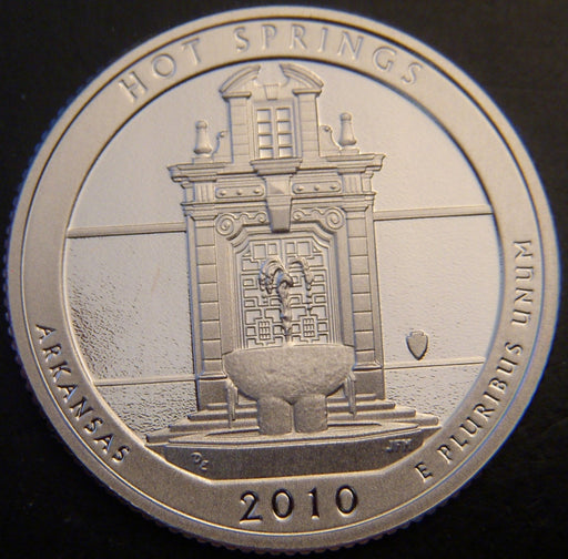 2010-S Hot Springs Quarter - Clad Proof