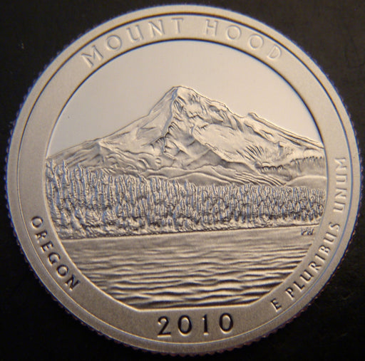 2010-S Mount Hood Quarter - Clad Proof