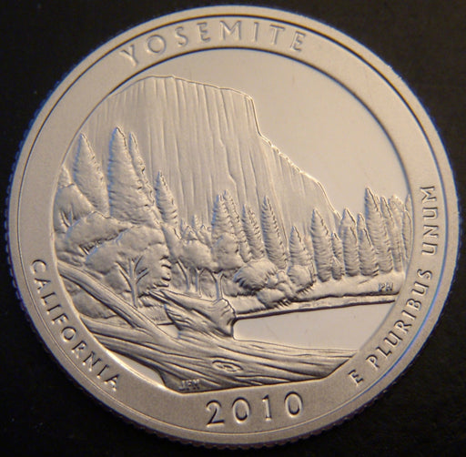 2010-S Yosemite Quarter - Clad Proof